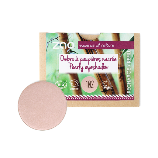 Refill Pearly Eye Shadow 102 Pearly pinky beige