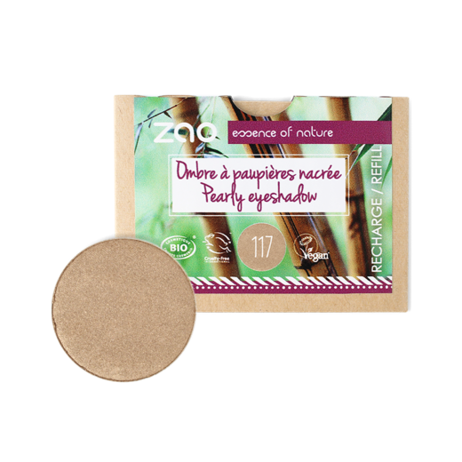 Refill Pearly eye shadow 117 Pinky bronze