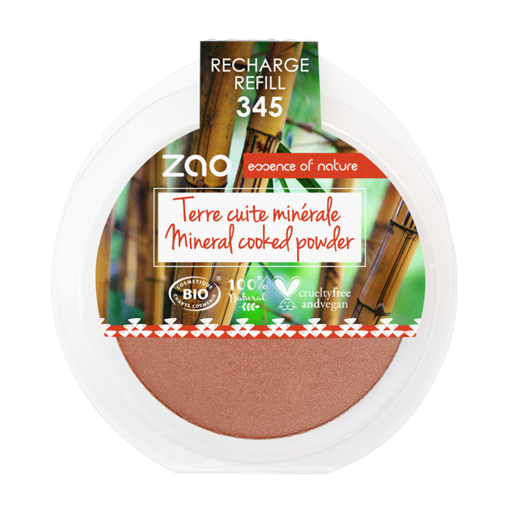 Refill Cooked Powder 345 Red copper