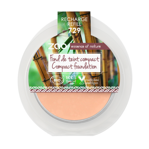 Refill Compact Foundation 729 very light pink Ivory