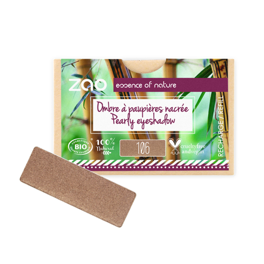 Refill Rectangle Eyeshadow Bronze 106