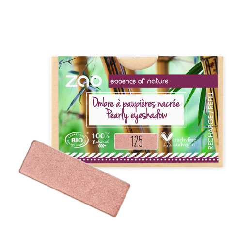Refill Rectangle Eyeshadow  Sunshiny Pink 125