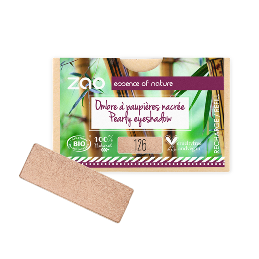 Refill Rectangle Eyeshadow  Golden Petal 126