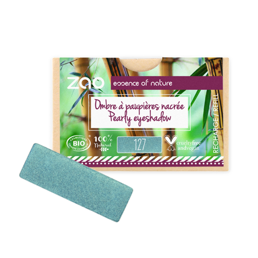 Refill Rectangle Eyeshadow  Peacock Blue 127