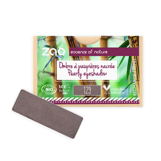 Refill Rectangle Eyeshadow  Taupe 129