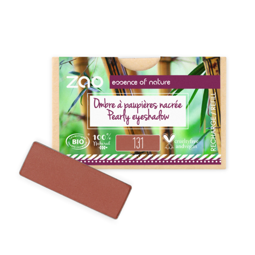 Refill Rectangle Eyeshadow  131 Sienna earth