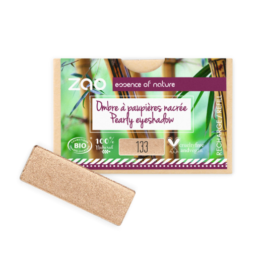 Refill Rectangle Eyeshadow  133 Goldy