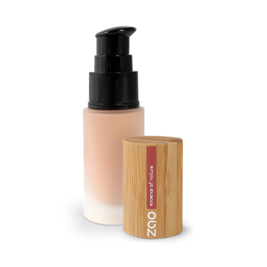Silk foundation glass-pump 714 Natural beige