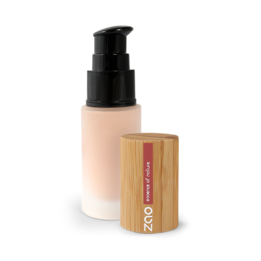 Silk foundation glass-pump 710 Light Peach